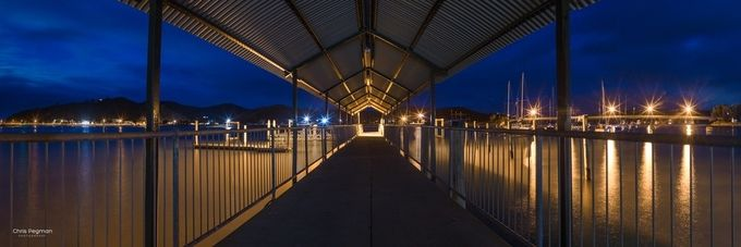 Waitangi Wharf Lines by chrispegman - Promenades And Boardwalks Photo Contest