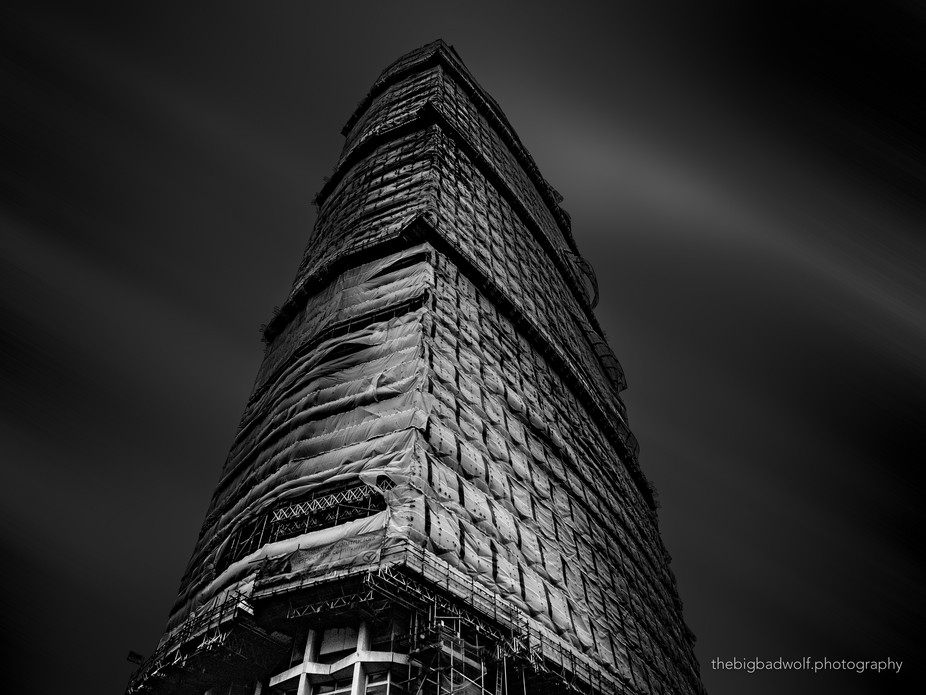 A bit of an unusual high rise subject, one undergoing a conversion from office space to luxury ap...