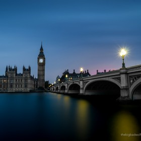 The Houses of Parliament, Big Ben and the Westminster Bridge.  500px.com/thebigbadwolf www.thebigbadwolf.photography