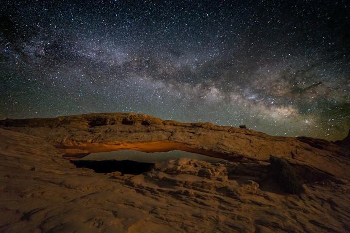 Mesa Arch Milky Way by TomHeywood - Nature And The Night Photo Contest