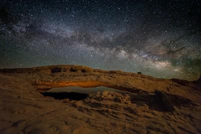 Mesa Arch Milky Way