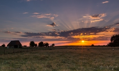Sunset in Normandie