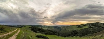 Country Sunset- Panorama