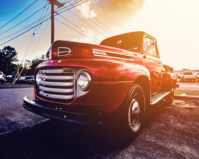 Classic Ford by dustindoust - Awesome Cars Photo Contest