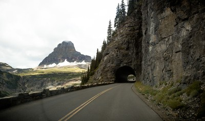 Westbound through Glacier National Park