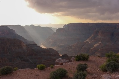 God Rays - Grand Canyon, Arizona