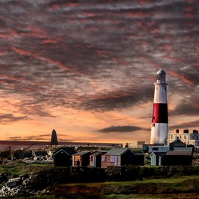 Portland bill lighthouse Weymouth Dorset