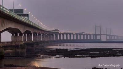 Severn Bridge Fog
