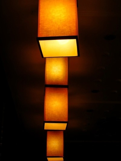 Abstract ceiling lights
