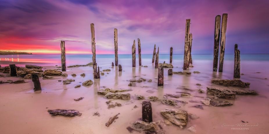 Port Willunga jetty ruin