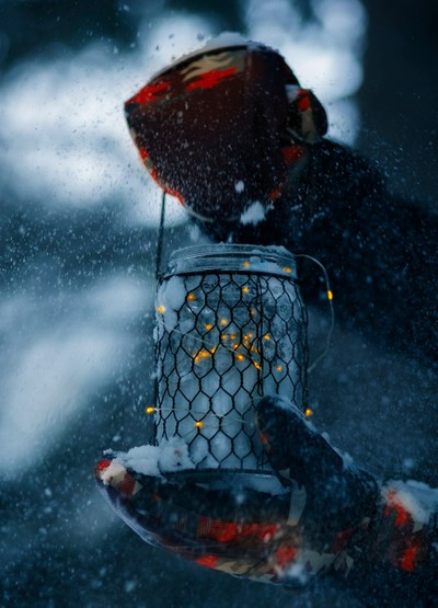 Holding Light Through The Blizzard