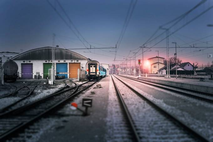 train dreams by tadejturk - Public Transport Hubs Photo Contest