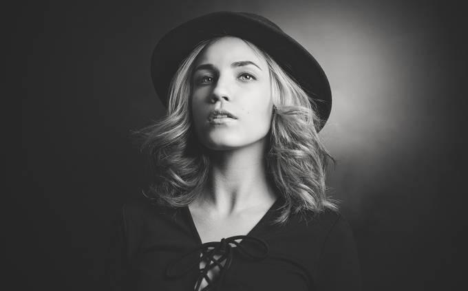 Veronique by St-GermainPhotographie - Black And White Female Portraits Photo Contest