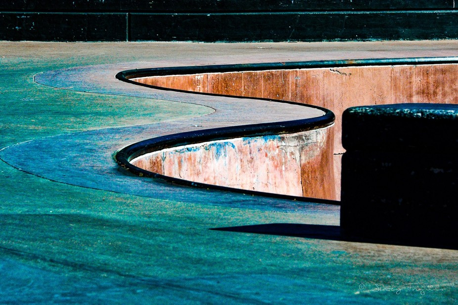 Who knew skate parks could be so rich in color, shape, line, form, space, texture, and value?