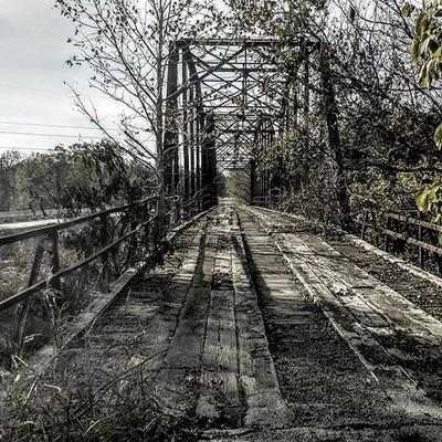 The old hwy 88 bridge #claremore