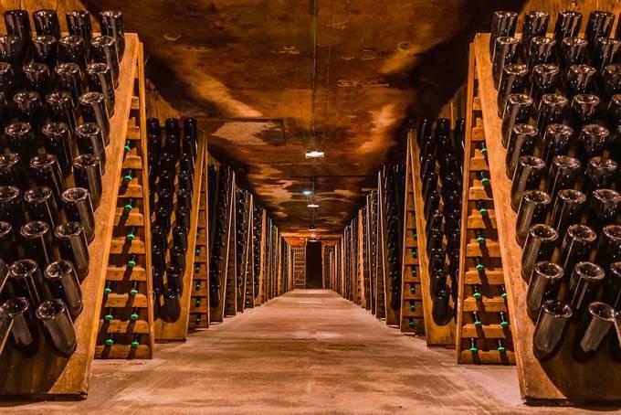 Champagne Cellar, Moët et Chandon by JackHeald - Shooting Tunnels Photo Contest