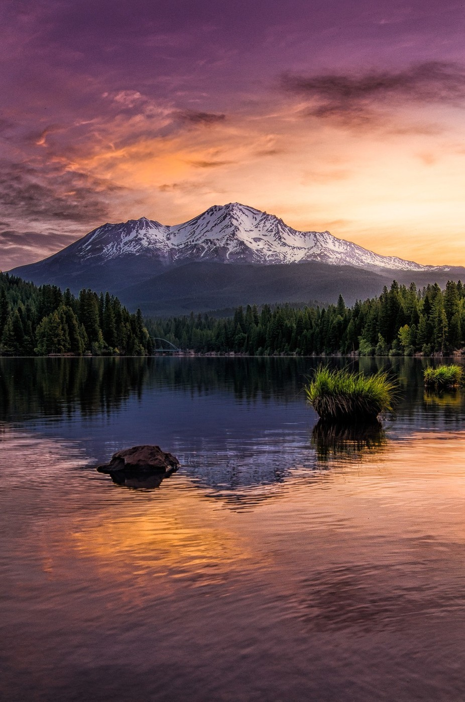Shasta Revisited by MicahBBurke - Image Of The Month Photo Contest Vol 18