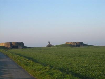 Bunkers above Juno Beach