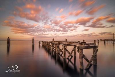 Sunset at Lake Monroe