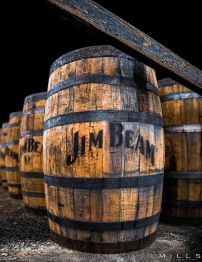 Barrels at the Distillery I