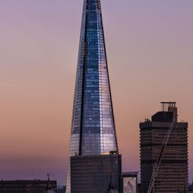 At the moment this building Known as the Shard still remains the tallest building in Europe.