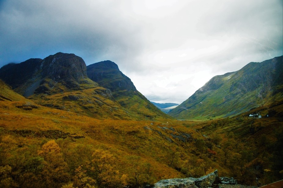 I took this photo during my semester abroad in Scotland. I fell in love with the scenery and coul...