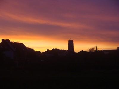 Sunset on Mechelen
