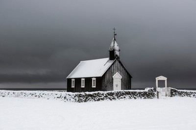 The black church of Budir