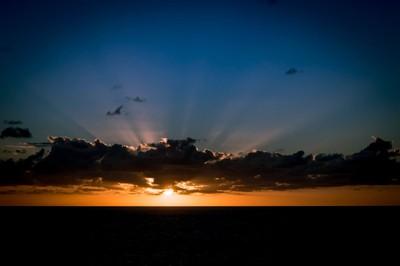 Atlantic Ocean Sunset-25Nov2016