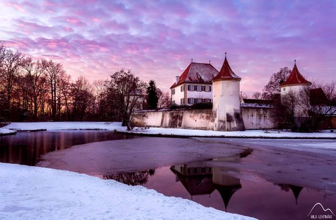 Winter night purple night by Mila_Lehtimaeki - Shades Of Purple Project