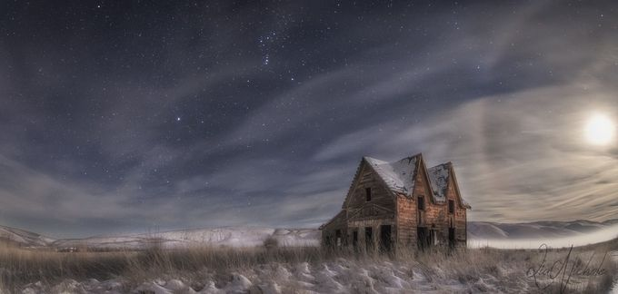 Winter Evening by liasimcox - Isolated Photo Contest