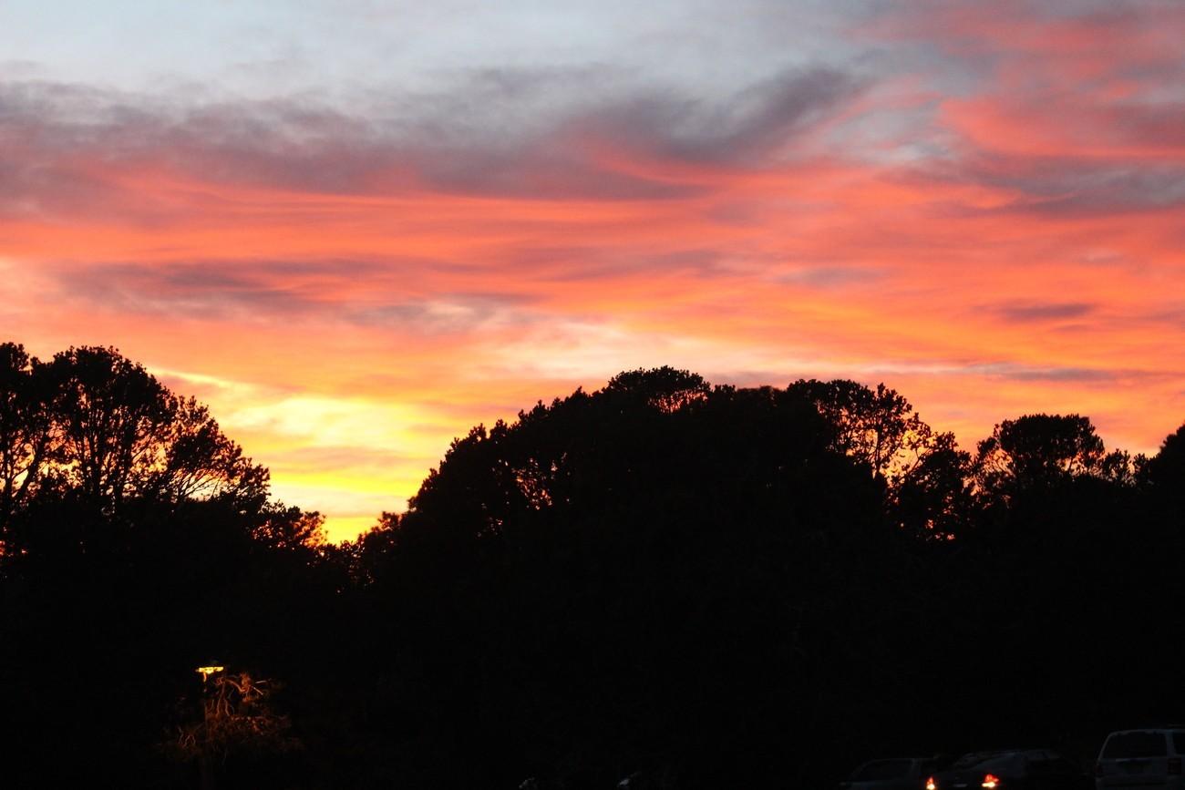 Sunset Gila Bend.