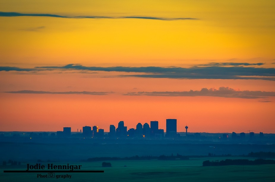 I decided on a hiking trip, West of Calgary Alberta, my goal was to capture the sunrise over the ...