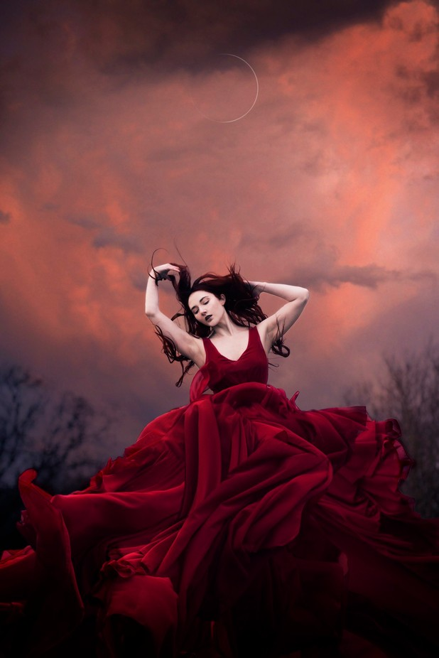 Rise Red by rekhagarton - It Is Red Photo Contest