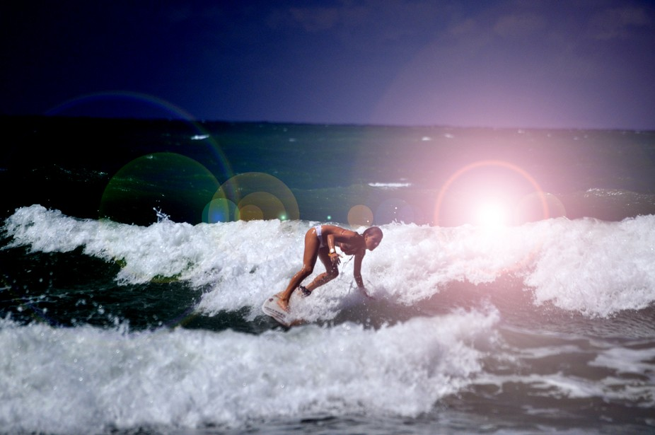 Female Surfer