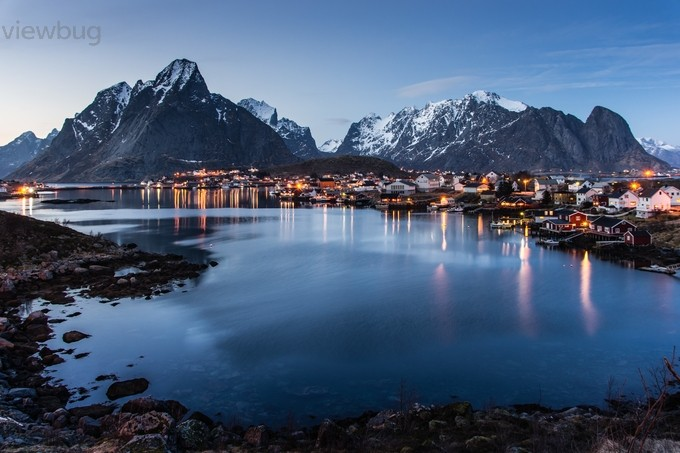 Reine, Lofoten by MikeW - Towns In The Winter Photo Contest