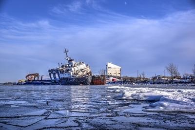 Winter Kathryn Spirit Shipwreck