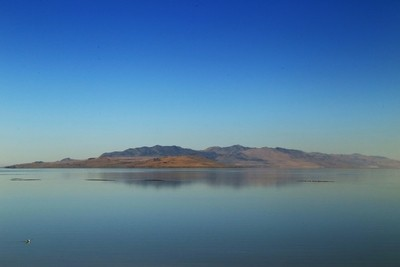 From Antelope Island