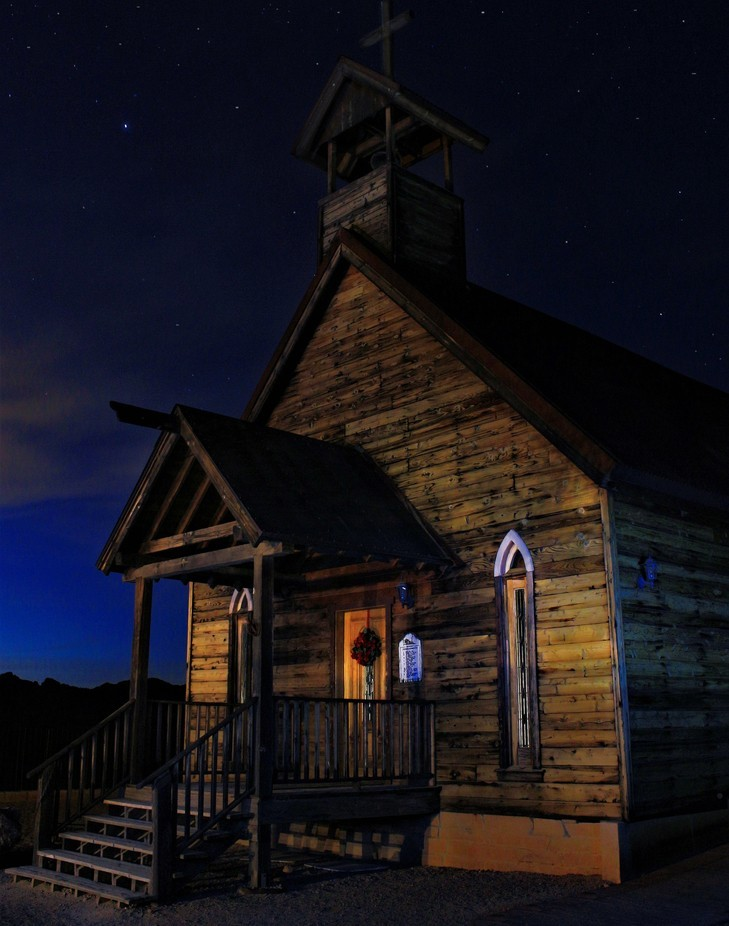 House of the Western Preacher by Forrest_Imagery - Experimental Light Photo Contest