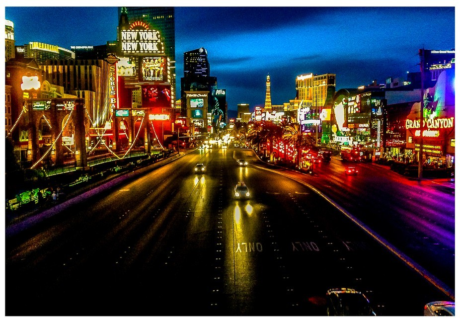 This was taken when i was in Las Vegas and I would consider it the neon light capital of the world