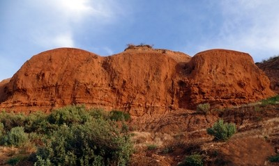 Christies Beach red sandstone landscape