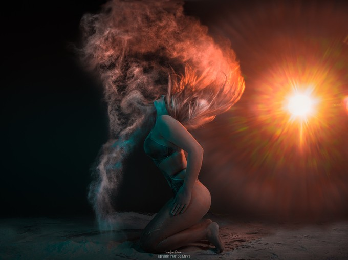 A thong of ice and fire by MattPointZero - Flares 101 Photo Contest