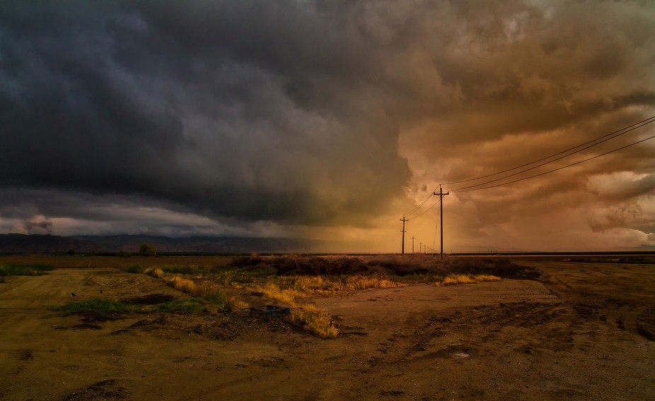 Kern County, California. Taken just off Bear Mountain Blvd, west of Bakersfield. Awesome light an...