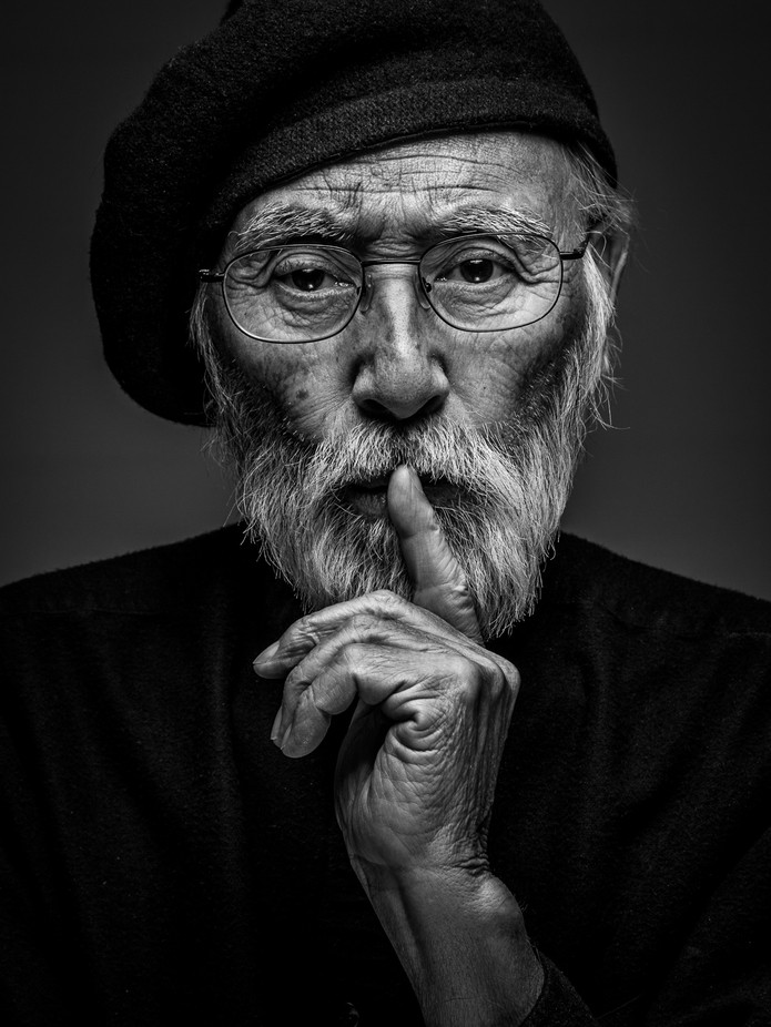 Artist by paulbartell - Beards and Mustaches Photo Contest