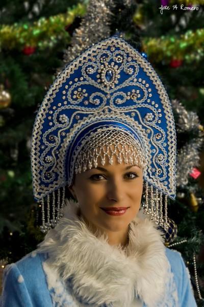 Russian Christmas costume