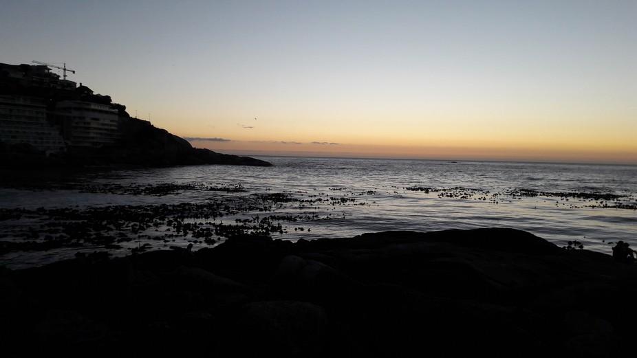 Sunset taken at Bantry Bay. Capetown...