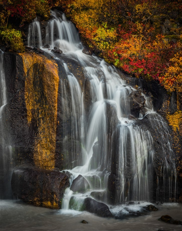Fall in Iceland by CherylO - Beautiful Waterfalls Photo Contest