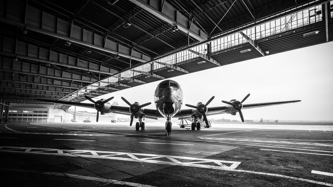 Douglas Skymaster  C-54 by daniel_anhut - Aircrafts Photo Contest