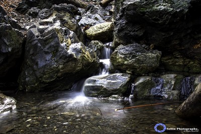"""""""After the rain falls"""" One of the many little water falls running through the Rose Valley."""
