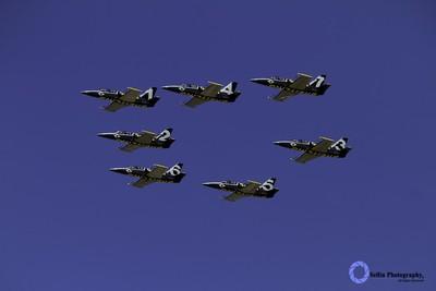 """""""Breitling Jets fly over Pt. Mugu"""""""
